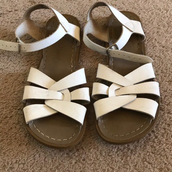 0c46bc90c Salt Water Sandals by Hoy Shoes | Womens White Saltwater Sandals ...